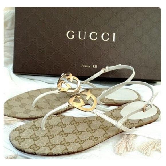 643d573b4 Gucci Shoes | Authentic Ellen Mere G Thong Sandals | Poshmark